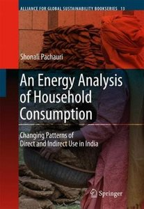 An Energy Analysis of Household Consumption