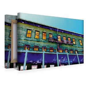 Premium Textil-Leinwand 45 cm x 30 cm quer Außenansicht Gebäude