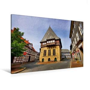 Premium Textil-Leinwand 120 cm x 80 cm quer Bäckergildehaus