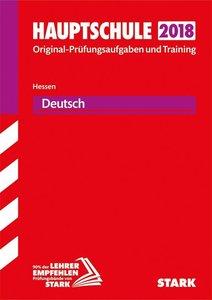 Abschlussprüfung Hauptschule Hessen 2018 - Deutsch