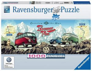 Ravensburger 15102 - Brenner Pass, Mit dem VW Bulli über den Bre