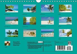 Beautiful Caribbean Beaches (Wall Calendar perpetual DIN A4 Land