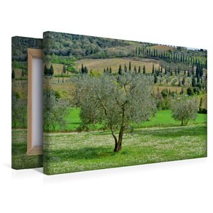 Premium Textil-Leinwand 45 cm x 30 cm quer Sehnsuchtslandschaft