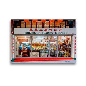 Premium Textil-Leinwand 45 cm x 30 cm quer Sheung Wan