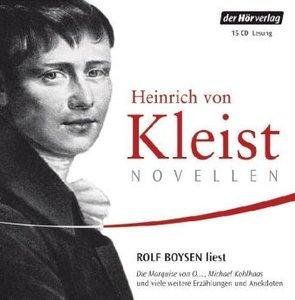 Heinrich Von Kleist Novellen.Rolf Boysen Liest