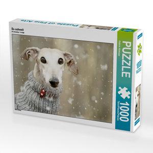 Es schneit 1000 Teile Puzzle quer