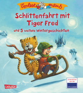 VORLESEMAUS, Band 18: Schlittenfahrt mit Tiger Fred