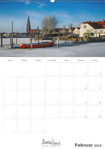 Grüße aus der Schleistadt Schleswig (Wandkalender 2018 DIN A2 ho