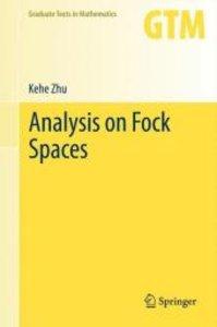 Analysis on Fock Spaces