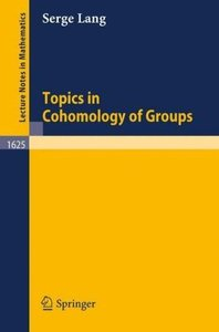 Topics in Cohomology of Groups