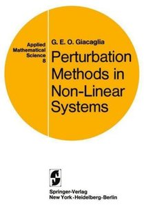 Perturbation Methods in Non-Linear Systems