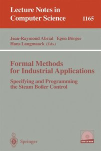 Formal Methods for Industrial Applications