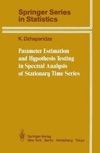 Parameter Estimation and Hypothesis Testing in Spectral Analysis