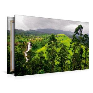 Premium Textil-Leinwand 120 cm x 80 cm quer Sri Lanka Highlands