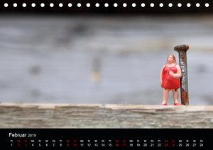 Miniansichten - Kleine Leute unterwegs (Tischkalender 2019 DIN A