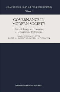Governance in Modern Society