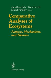 Comparative Analyses of Ecosystems