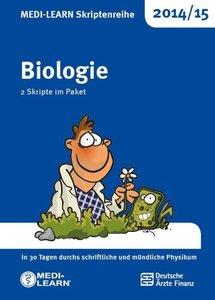 MEDI-LEARN Skriptenreihe 2014/15: Biologie im Paket/2 Bde.