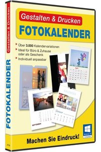 Gestalten & Drucken Fotokalender. Für Windows 10, Windows 8, Win