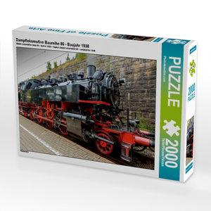 Dampflokomotive Baureihe 86 - Baujahr 1938 2000 Teile Puzzle que