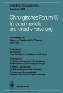 107. Kongreß der Deutschen Gesellschaft für Chirurgie Berlin, 17