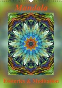 Mandala - Esoterics & Meditation / UK-Version (Wall Calendar 201
