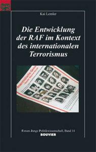 Die Entwicklung der RAF im Kontext des internationalen Terrorism