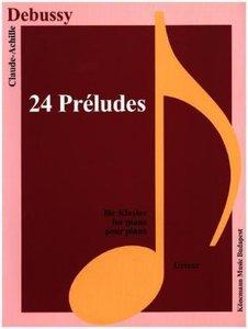 Debussy, 24 Préludes