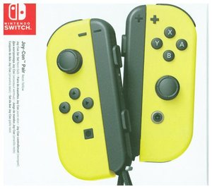 Joy-Con 2er-Set Neon-Gelb, Controller für Nintendo Switch