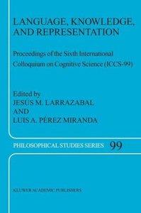 Language, Knowledge, and Representation