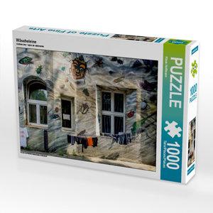 Wäscheleine 1000 Teile Puzzle quer