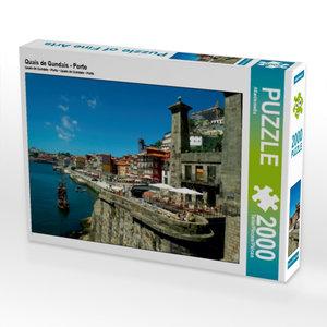 Quais de Gundais - Porto 2000 Teile Puzzle quer