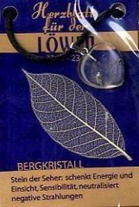 Bergkristall Herzblatt, Glücksstein
