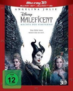 Maleficent: Mächte der Finsternis 3D, 1 Blu-ray