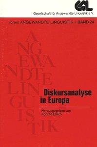 Diskursanalyse in Europa