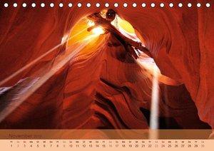 Der Antelope Canyon (Tischkalender 2019 DIN A5 quer)