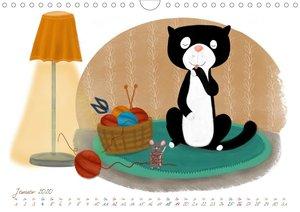 Mein Katzkalender (Wandkalender 2020 DIN A4 quer)
