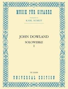Solowerke, für Gitarre. Bd.1