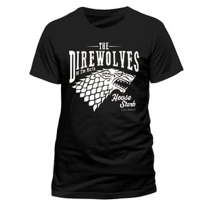 Direwolves (T-Shirt,Schwarz,Größe L)