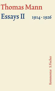 Essays 02. Große kommentierte Frankfurter Ausgabe. Kommentarband
