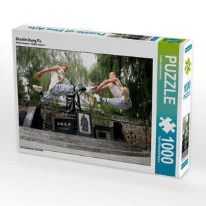 Shaolin Kung Fu 1000 Teile Puzzle quer