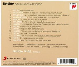 Brigitte Klassik zum Genießen: Nuria Rial