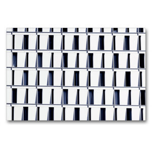 Premium Textil-Leinwand 90 cm x 60 cm quer Frankfurt/Main