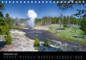 Traumziele in den USA. Der Yellowstone National Park