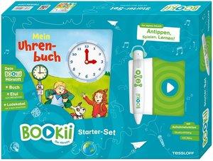 Bookii Starterset Uhrenbuch Buch + Hörstift, mit 1 Buch, mit 1 B