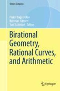 Birational Geometry, Rational Curves, and Arithmetic