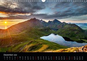 Skandinavien im SommerlichtCH-Version (Wandkalender 2020 DIN A3