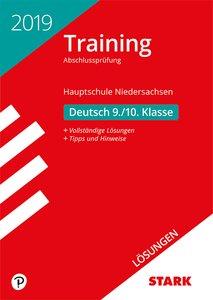 Lösungen zu Training Abschlussprüfung Hauptschule Niedersachsen