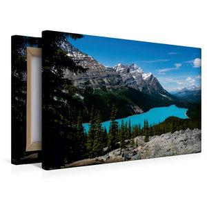 Premium Textil-Leinwand 45 cm x 30 cm quer Peyto Lake