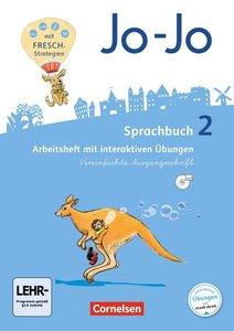 Jo-Jo Sprachbuch - Allgemeine Ausgabe 2. Schuljahr - Arbeitsheft